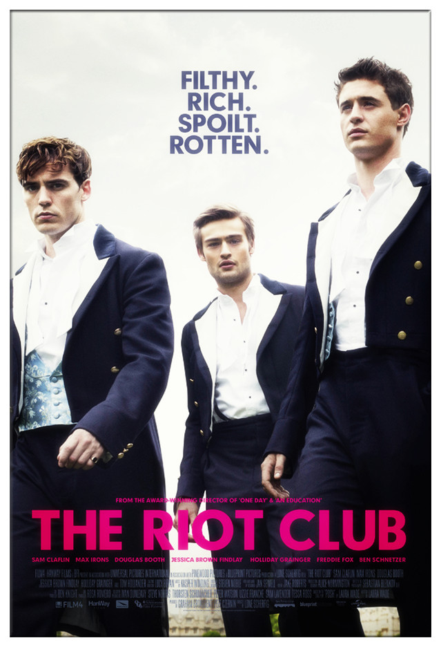 The Riot Club Movie Film 2014 - Sinopsis (Sam Claflin, Natalie Dormer)