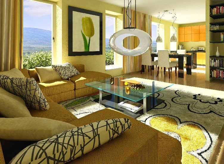 15 Striking Modern Living Room Design Ideas And Furniture Part 55