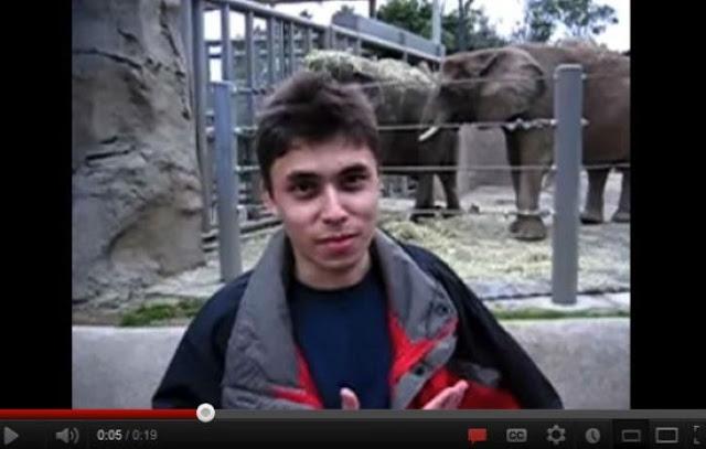 أول مقطع فيديو يتم تحميله على اليوتيوب