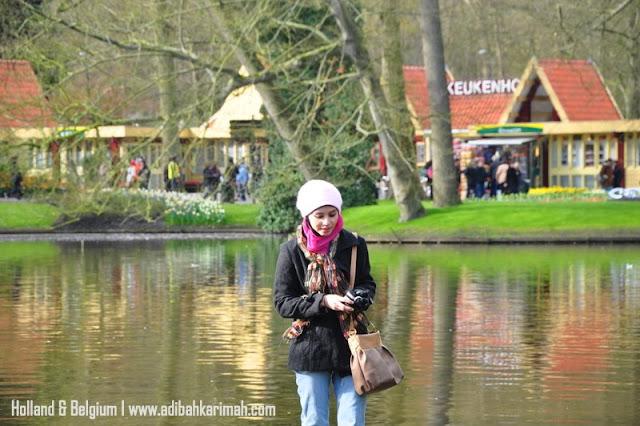 Free holiday trip to Holland and Belgium for premium beautiful team melawat keukenhof