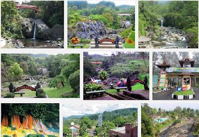 Ilustrasi Eksotika Alam Baturaden - Travelwan