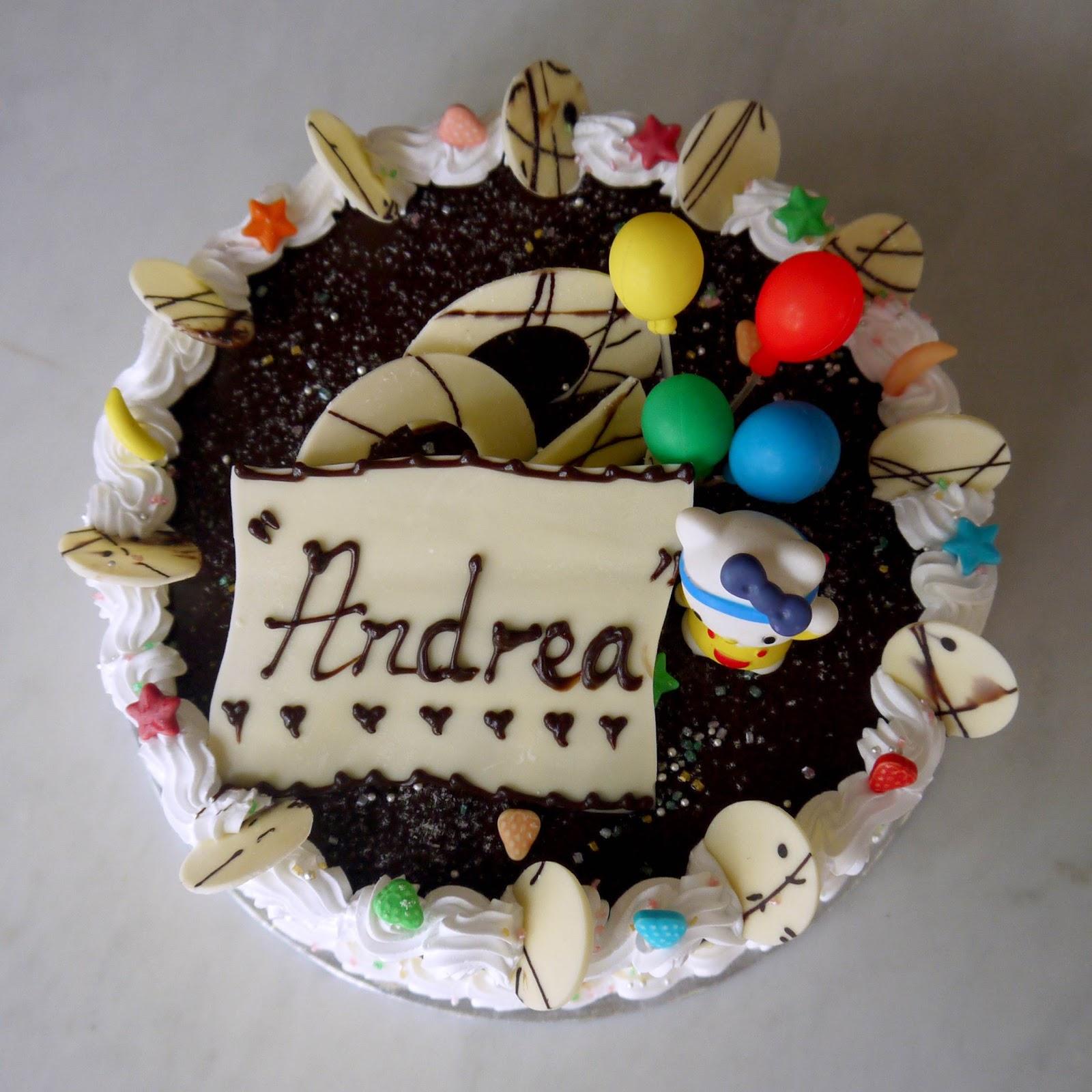 Sweet Indulgence Kuching Double Chocolate Birthday Cake