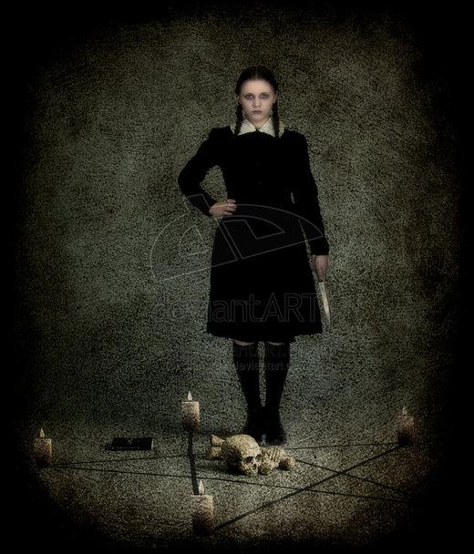 Wednesday Addams por dianar87