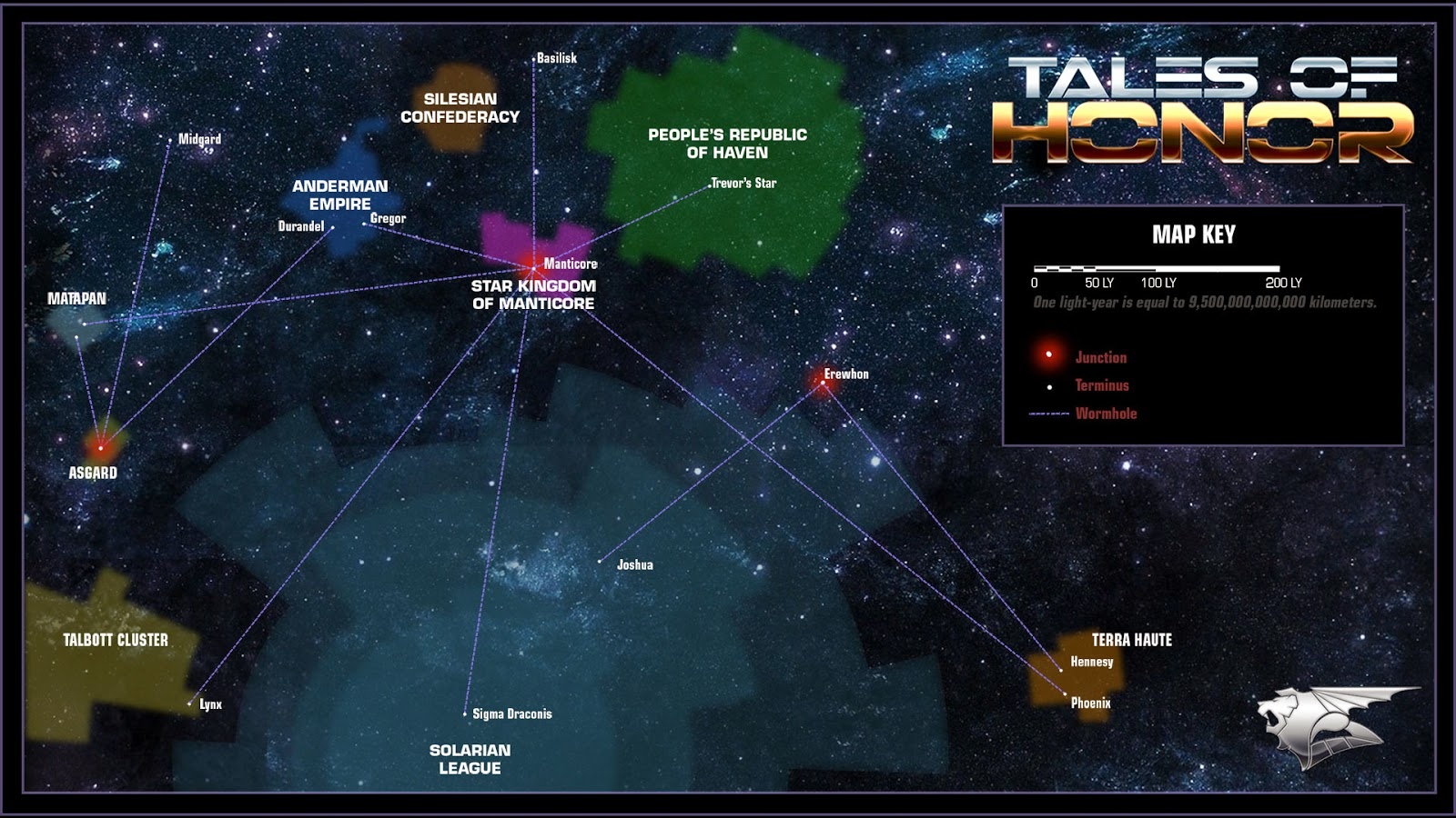 honorverse map