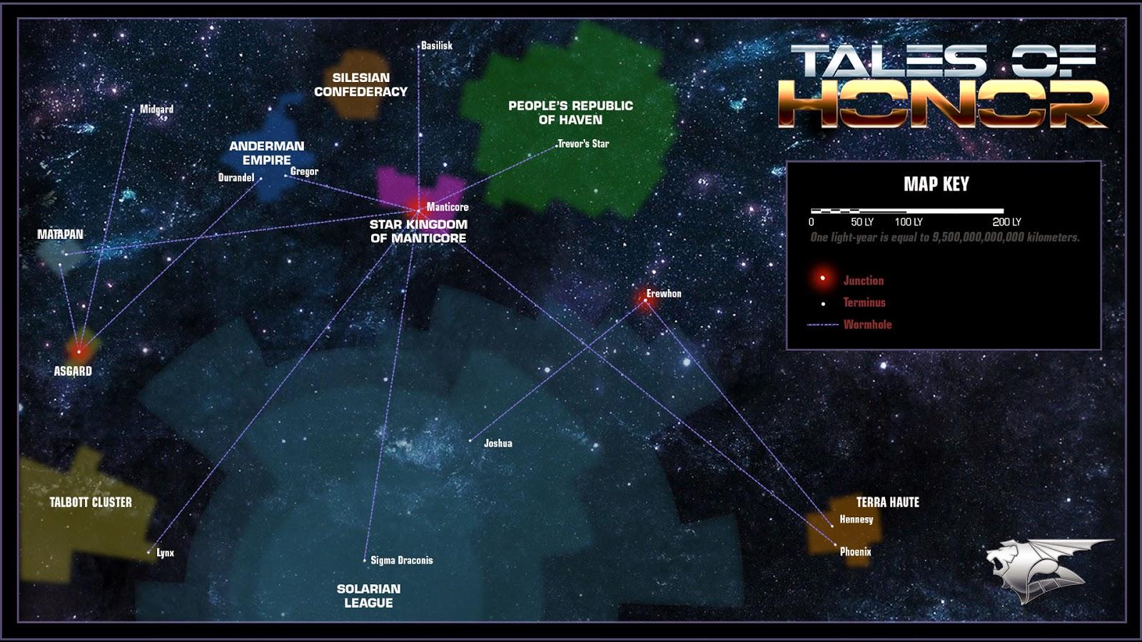 honorverse map