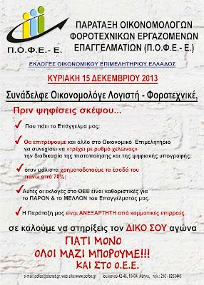 Νίκος Δ. Καβουρίνος - Πτυχιούχος Οικονομικού Πανεπιστημίου Πειραιά - Μέλος Δ.Σ. ΕΦΕΕΑ