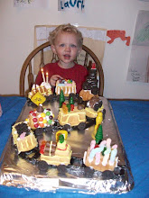 Jeremy's Train Cake