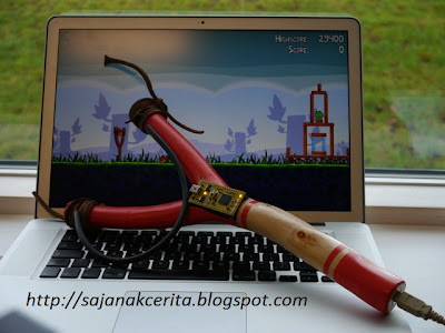 DIY USB Angry Birds Slingshot Controller