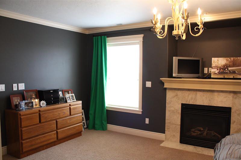White Family News Room Transformation Master Bedroom