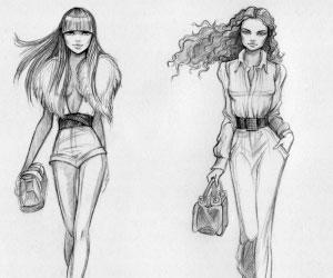 Draw Clothes Like Fashion Designer | How To Become A Fashion Designer