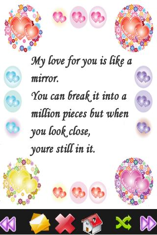 miracle of love love sms
