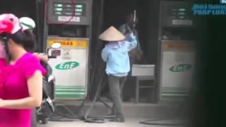 Video lật tẩy thủ đoạn ăn cắp xăng mới nhất
