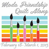 Moda Friendship Quilt Along 2013