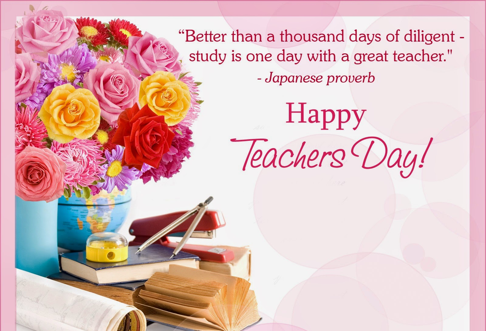 Happy Teachers Day Speech English Welcome Short