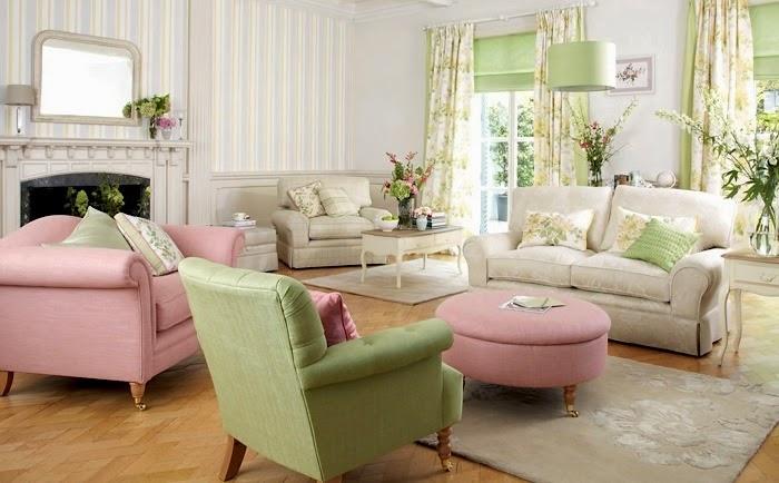 Mgc dise o de interiores decoraci n primaveral con laura for Salon laura ashley