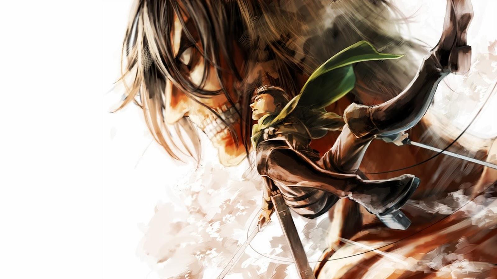 Levi Rogue Titan Eren Jaeger Yeager Attack On Shingeki No Kyojin Anime Hd Wallpaper