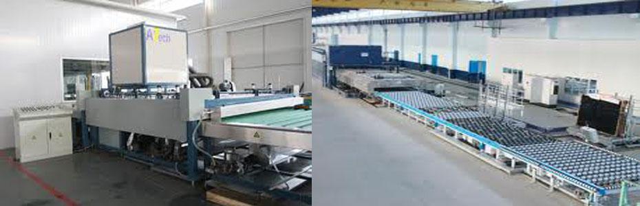 Dây chuyền sản xuất kính an toàn