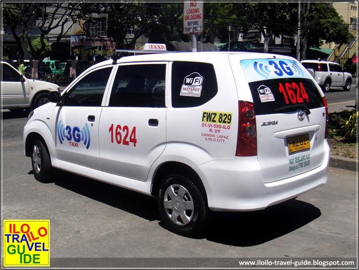 3g Wi Fi Taxi In Iloilo City Iloilo The Heart Of The