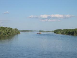 نهر أوبي في روسيا