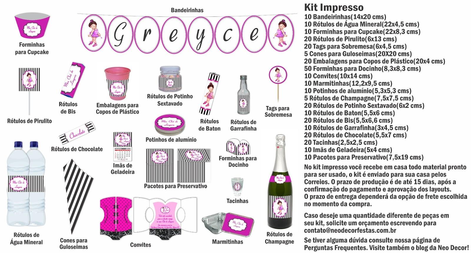 Populares Lista De Presentes Para Cha De Lingerie Rr91 Ivango