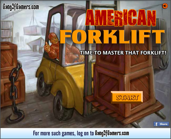 Truck Game : American Forklift