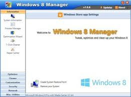 Yamicsoft Windows 8 Manager 1.0.9
