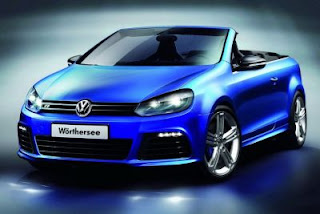 Fotos do VW Golf R Cabriolet 2012
