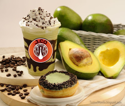 Cafe Avocado with Avocado DiCaprio donut