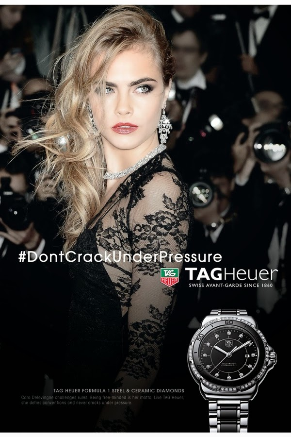 Cara Delevingne – TAG Heuer 2015 Campaign