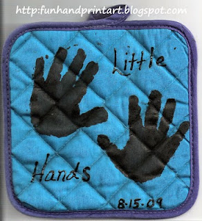 Craft Ideas Handprints on Handprint And Footprint Art   6 Last Minute Grandparent S Day Ideas