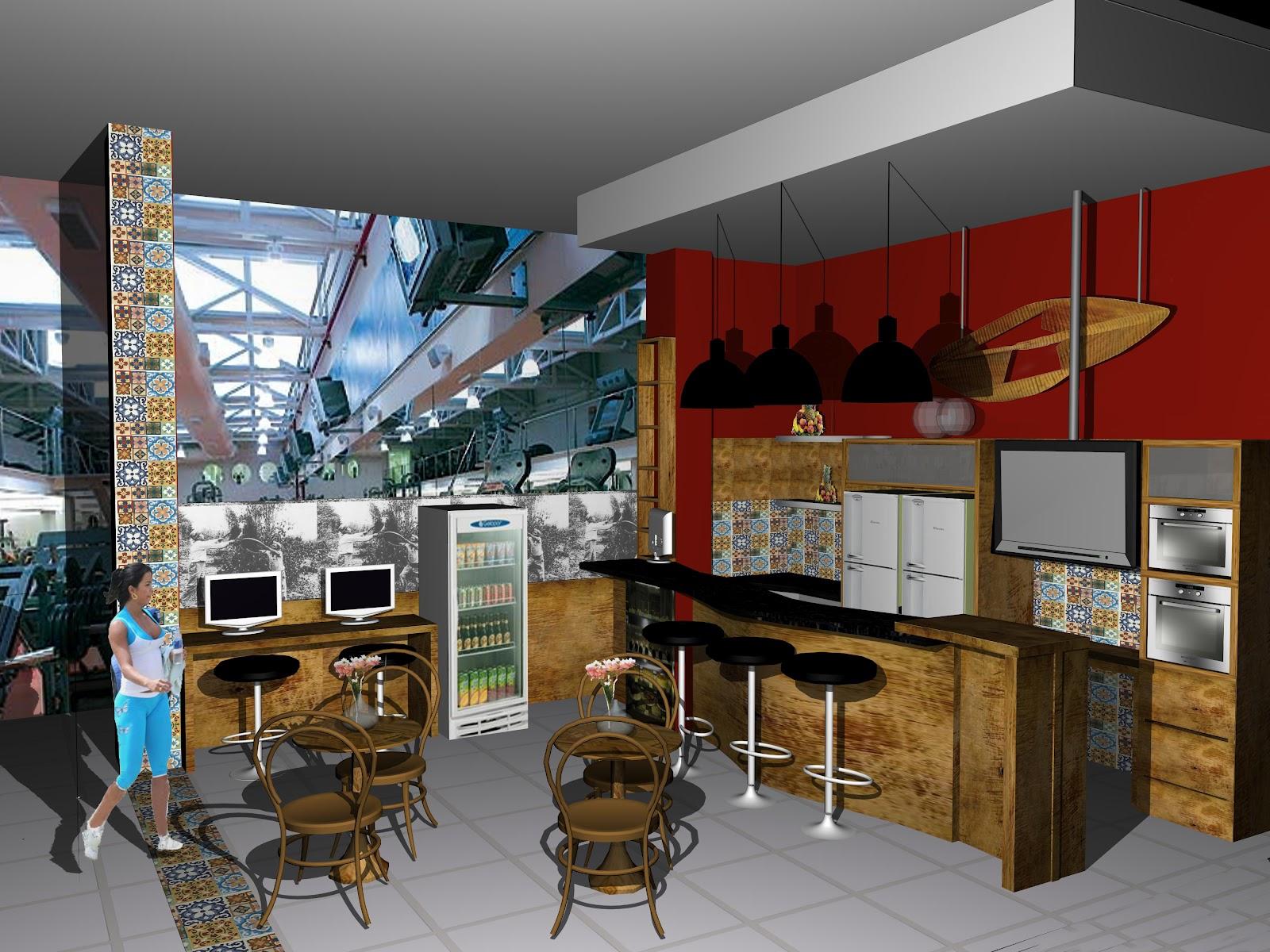 Oficina de Arquitetura: Projetos de Interiores #6B2714 1600 1200