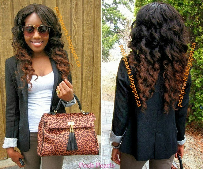 Posh Pearls Diy Ombre Hair Using Virgin Brazilian Hair Extensions