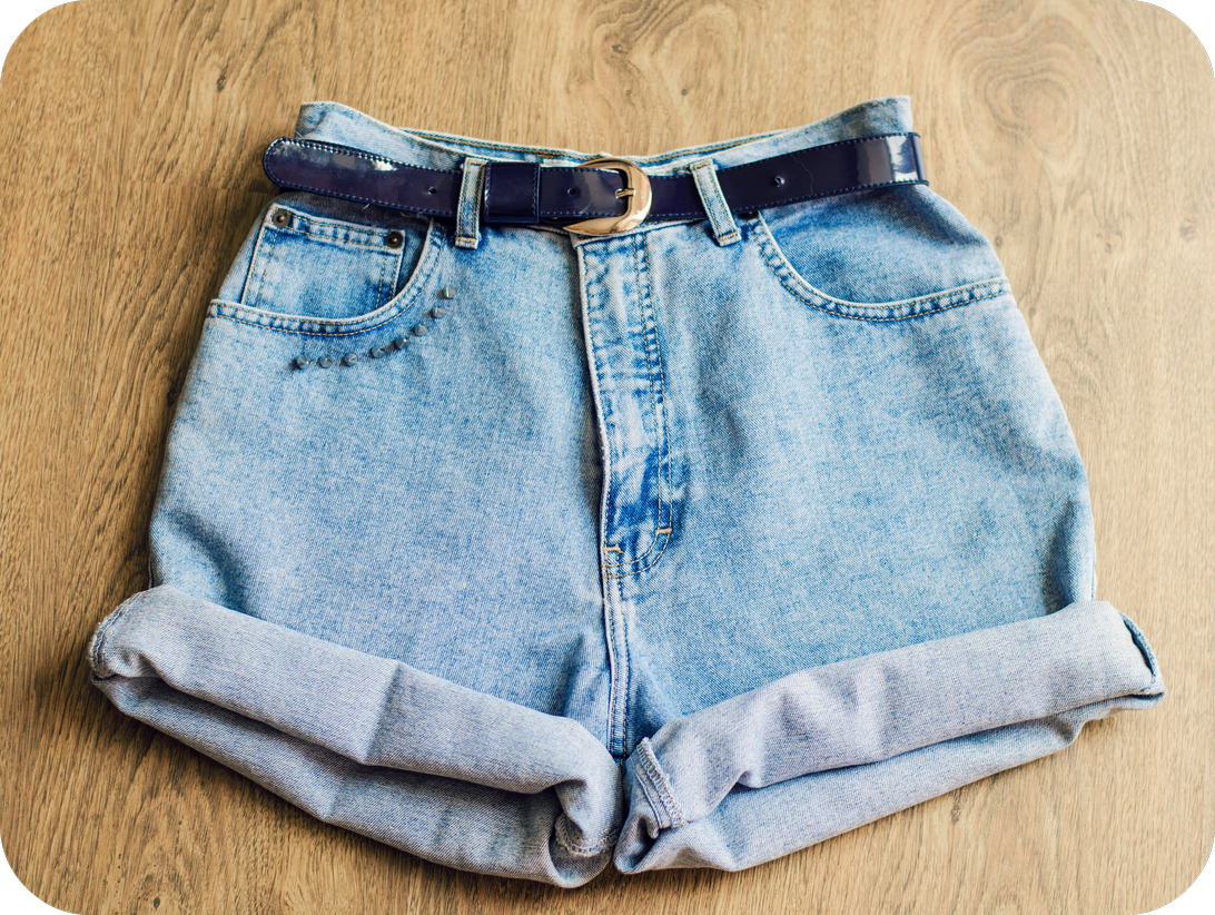 DIY Vintage oversized shorts aka The pants that make you ...