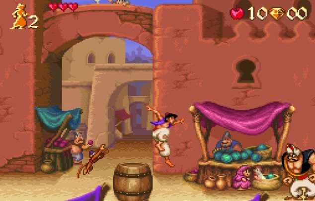 disneys aladdin video game