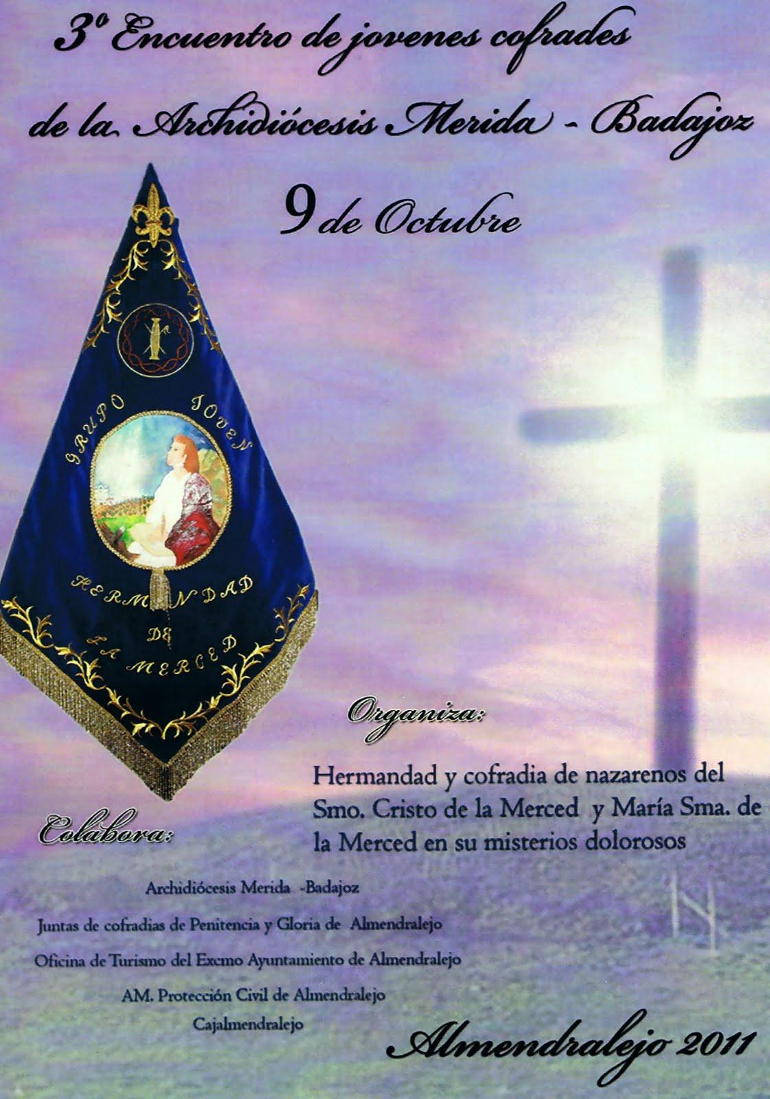 Cofradia de la santa vera cruz badajoz 3 encuentro de for Oficina de turismo de merida