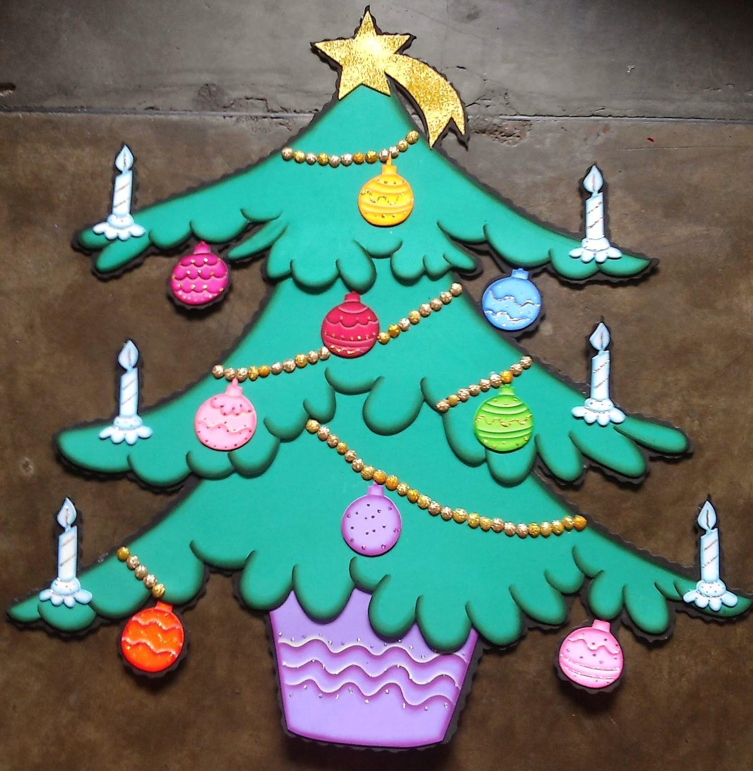 Apliques de navidad para el preescolar elaborados en foamy - Trabajos manuales de navidad para ninos ...