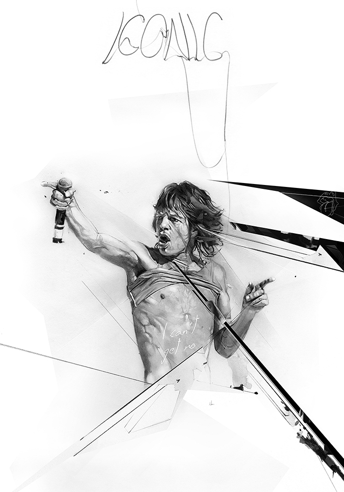 01-Mick-Jagger-Alexis-Marcou-Traditional-and-Digital-Celebrity-Drawings-www-designstack-co