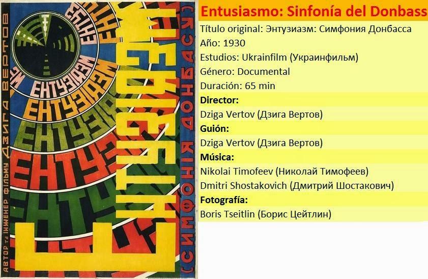 [Cine] Entusiamo: Sinfonía del Donbass (Энтузиазм: Симфония Донбасса)