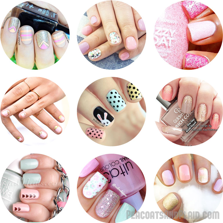 blog of Bre Paulson: My 9 favorite spring nail art trends & designs