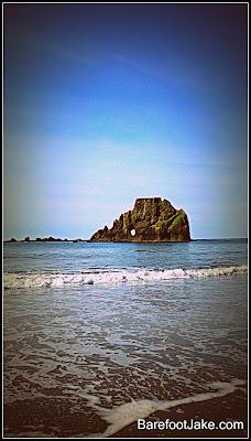 hole sea stack