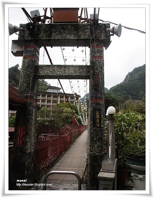 谷關溫泉風景區-谷關吊橋
