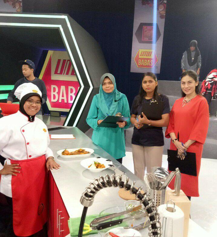 Juri jemputan untuk Baba's Versus 1001 rasa - TV3