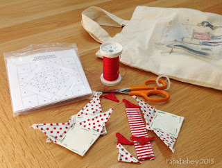 Travel Stitching Projects - English Paper Piecing