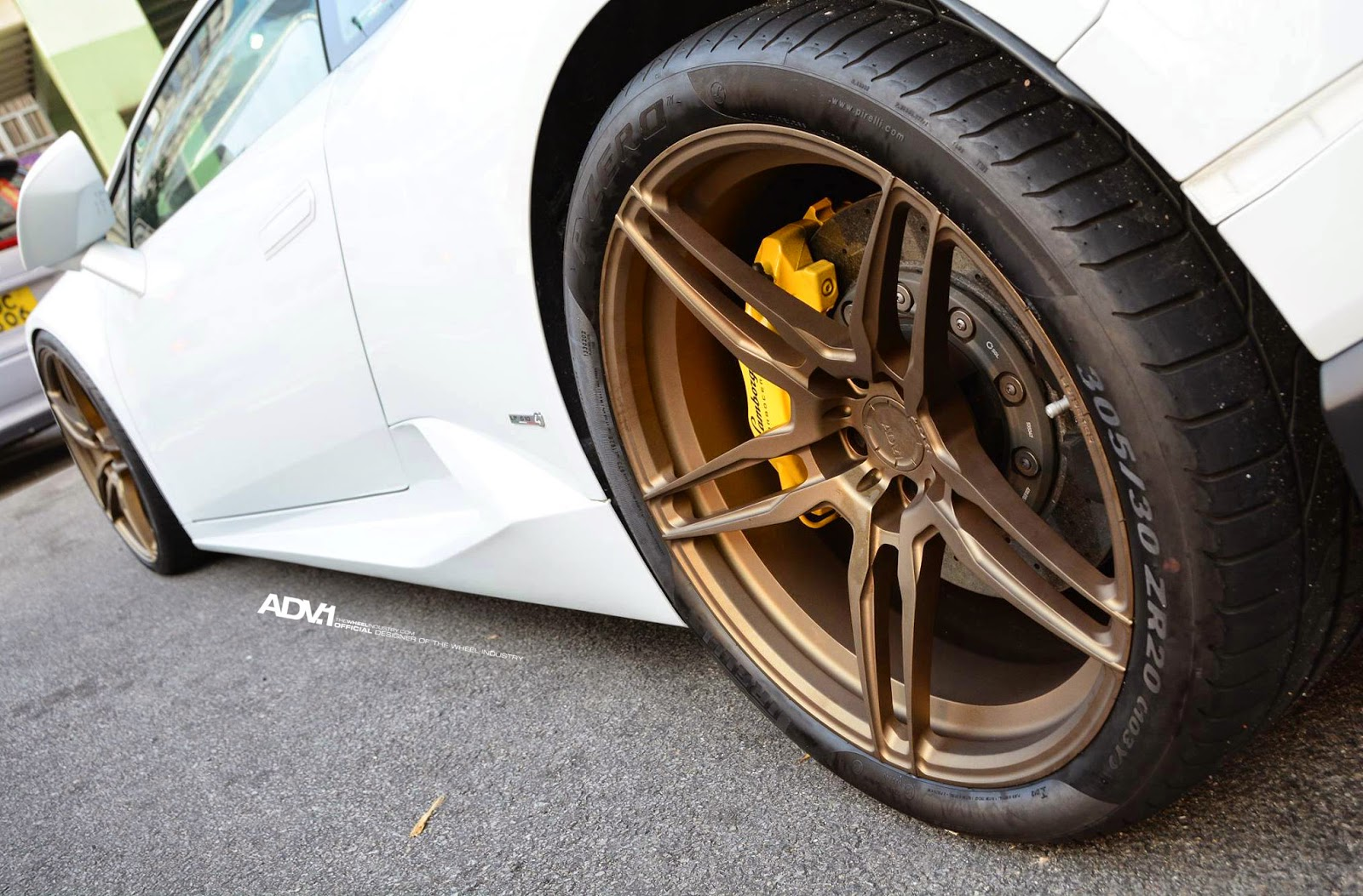 Lamborghini Huracan On ADV05 MV1 CS By ADV.1 Wheels
