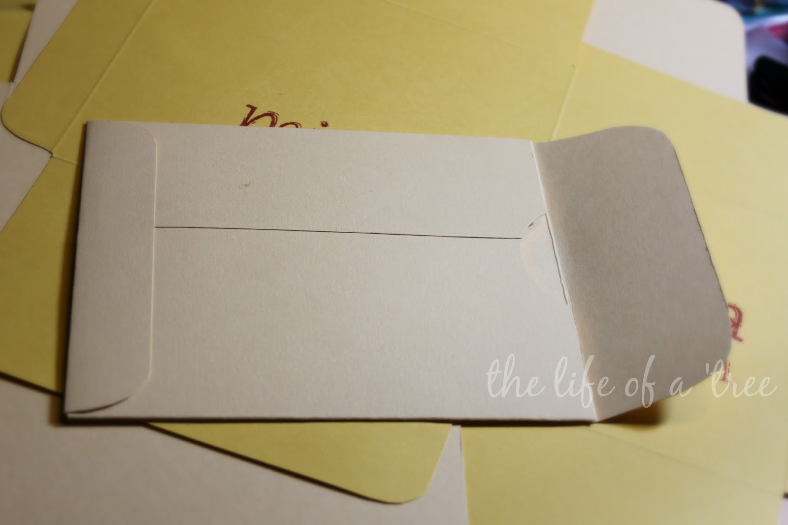 Scrapbook paper envelope template - She Decided She Wanted Them To Look Like Manila Envelopes I Made A Template From A Cereal Box Then I Searched Through All My Scrapbook Paper And Ended Up