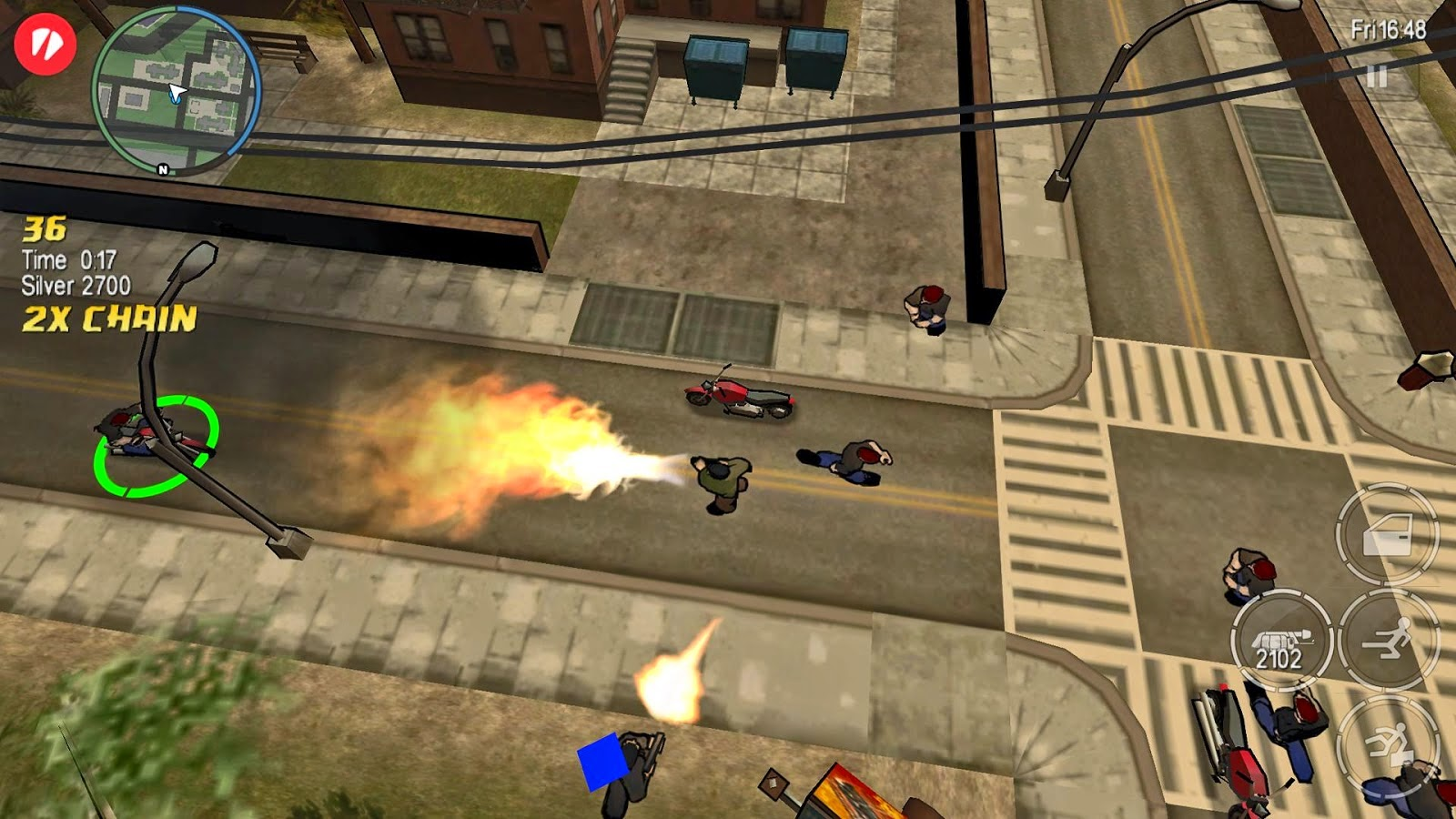 AndroCut - Android HVGA and QVGA HD Cracked Games: GTA Chinatown Wars APK+DATA v1.00 (1.00) Download