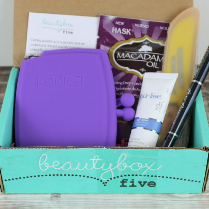 Beauty Box 5 - August 2015: Primped review and unboxing
