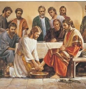 Jésus au service