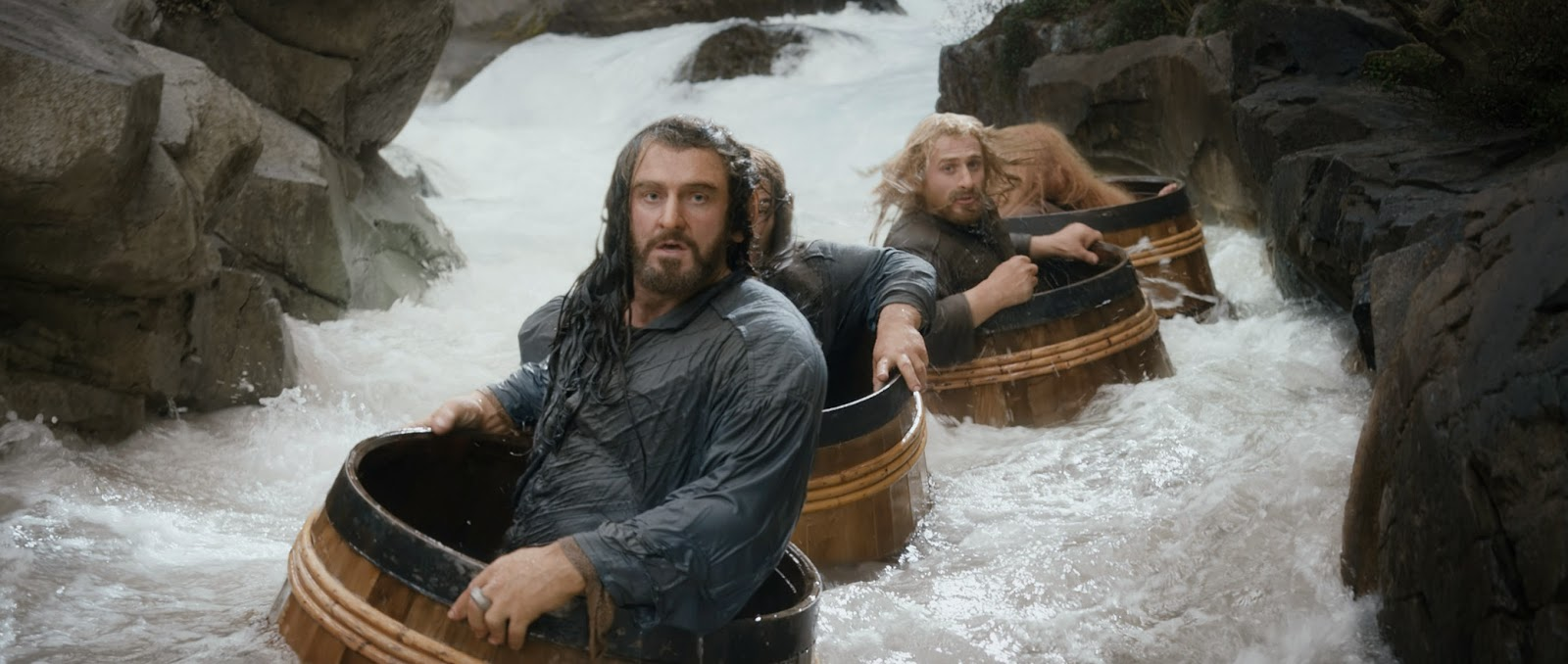 The Hobbit: The Desolation of Smaug barrel escape