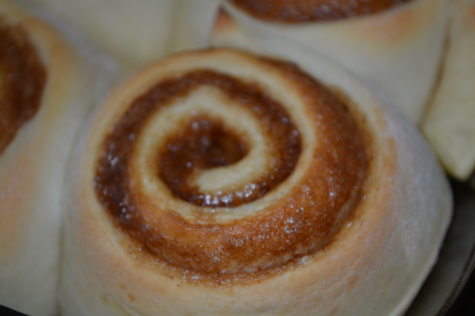 ... Simply Cinn-full Cinnamon Rolls with Vanilla Bean Cream Cheese Glaze